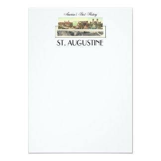 ABH St. Augustine 5x7 Paper Invitation Card