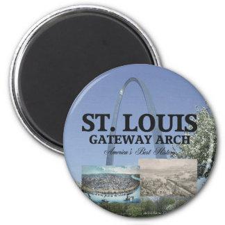 ABH St. Louis Gateway 2 Inch Round Magnet