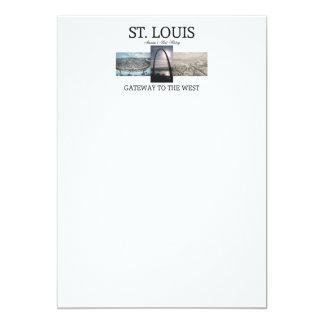ABH St. Louis Gateway 5x7 Paper Invitation Card