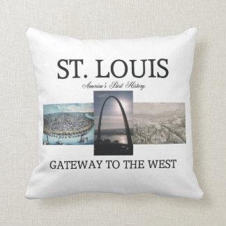 ABH St. Louis Gateway Pillow