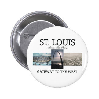 ABH St. Louis Gateway Pinback Button