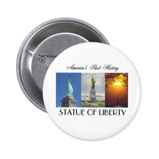 ABH Statue of Liberty 2 Inch Round Button