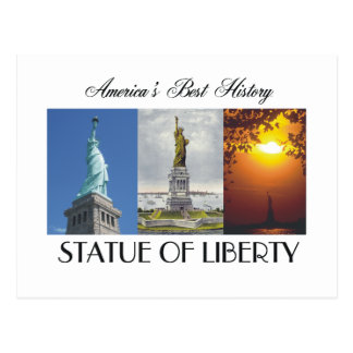ABH Statue of Liberty Postcard