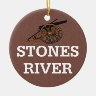 ABH Stones River Ceramic Ornament