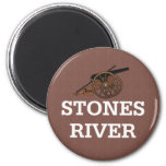 ABH Stones River Fridge Magnet