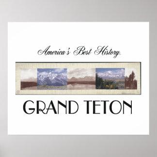 ABH Teton magnífico Posters