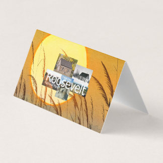 ABH Theodore Roosevelt NP Business Card