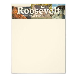 "ABH Theodore Roosevelt NP Invitación 4.25"" X 5.5"""