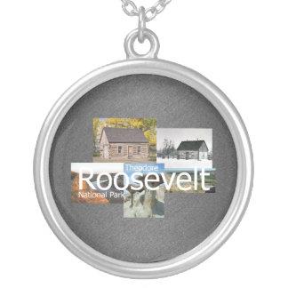 ABH Theodore Roosevelt NP Round Pendant Necklace
