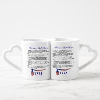 ABH Timeline 1776 Coffee Mug Set