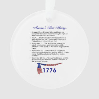 ABH Timeline 1776 Ornament
