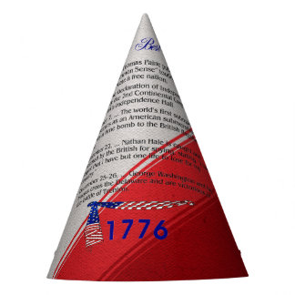 ABH Timeline 1776 Party Hat