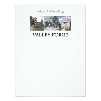 ABH Valley Forge 4.25x5.5 Paper Invitation Card