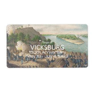 ABH Vicksburg Shipping Labels