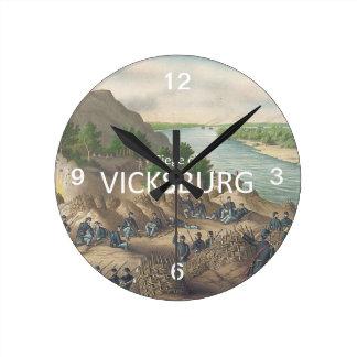 ABH Vicksburg Round Clock