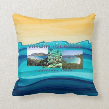ABH Virgin Islands Throw Pillow