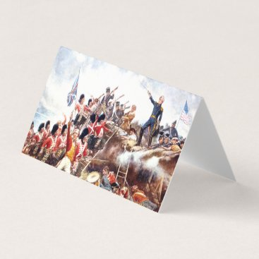 USA Themed ABH War of 1812 Business Card