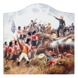 ABH War of 1812 Door Sign