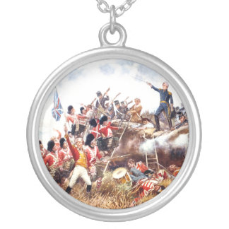 ABH War of 1812 Silver Plated Necklace