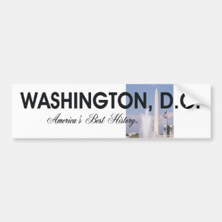 ABH Washington DC Car Bumper Sticker