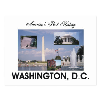 ABH Washington DC Postcard