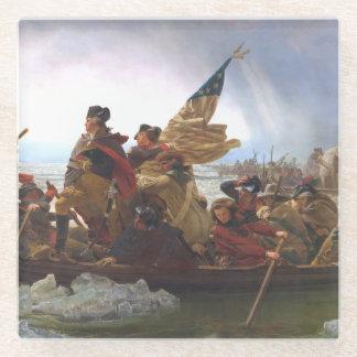 ABH Washington's Crossing Glass Coaster