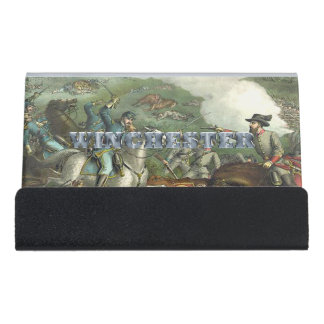 ABH Winchester Desk Business Card Holder