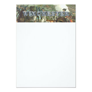 ABH Winchester 5x7 Paper Invitation Card