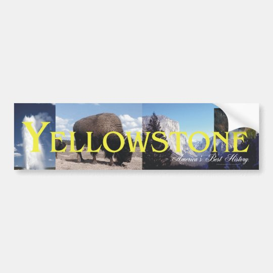 Yellowstone Bumper Sticker