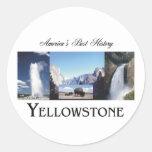 ABH Yellowstone Pegatinas
