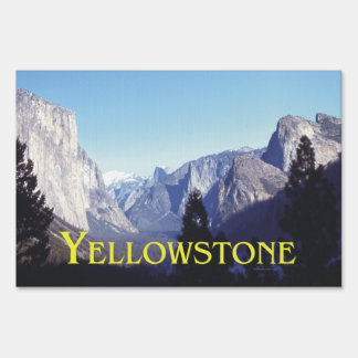 ABH Yellowstone Sign