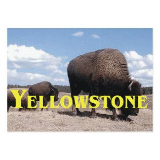 ABH Yellowstone Tarjetas De Visita Grandes