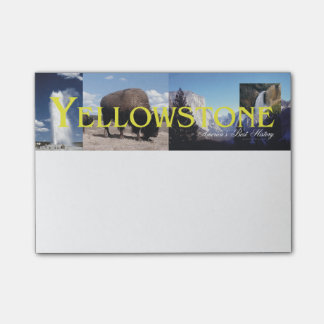 ABH Yellowstone Post-it® Notes