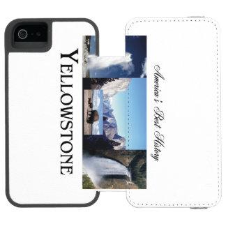 ABH Yellowstone Funda Cartera Para iPhone 5 Watson