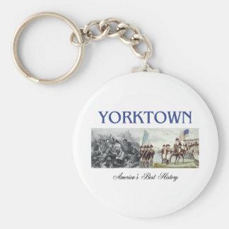 ABH Yorktown Basic Round Button Keychain