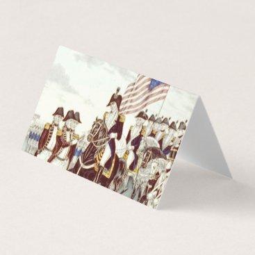 USA Themed ABH Yorktown Business Card
