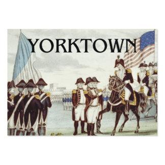 ABH Yorktown Tarjetas De Visita Grandes