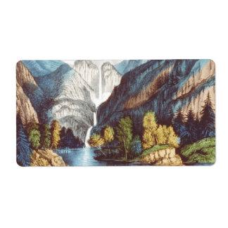 ABH Yosemite Etiqueta De Envío
