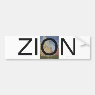 ABH Zion Bumper Sticker