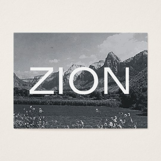 ABH Zion Business Card