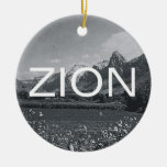 ABH Zion Christmas Ornaments