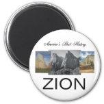 ABH Zion Fridge Magnets
