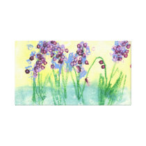 Abhi's Flower Garden Canvas Print