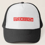 Abhorrent Stamp Trucker Hat