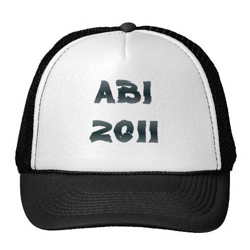ABI 2011 MESH HATS