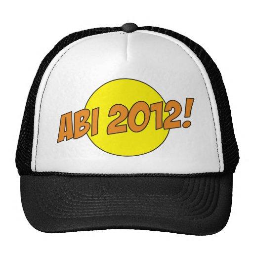 Abi 2012 trucker hats