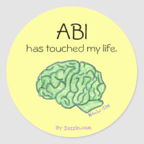 ABI awareness sticker