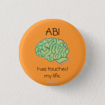 """ABI has touched my life"" button"