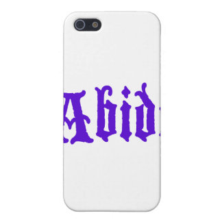 Abide (big purple edition) case for iPhone 5
