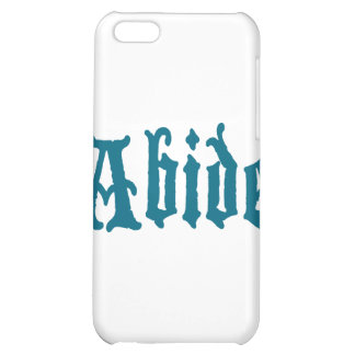 Abide (blue cool edition) case for iPhone 5C